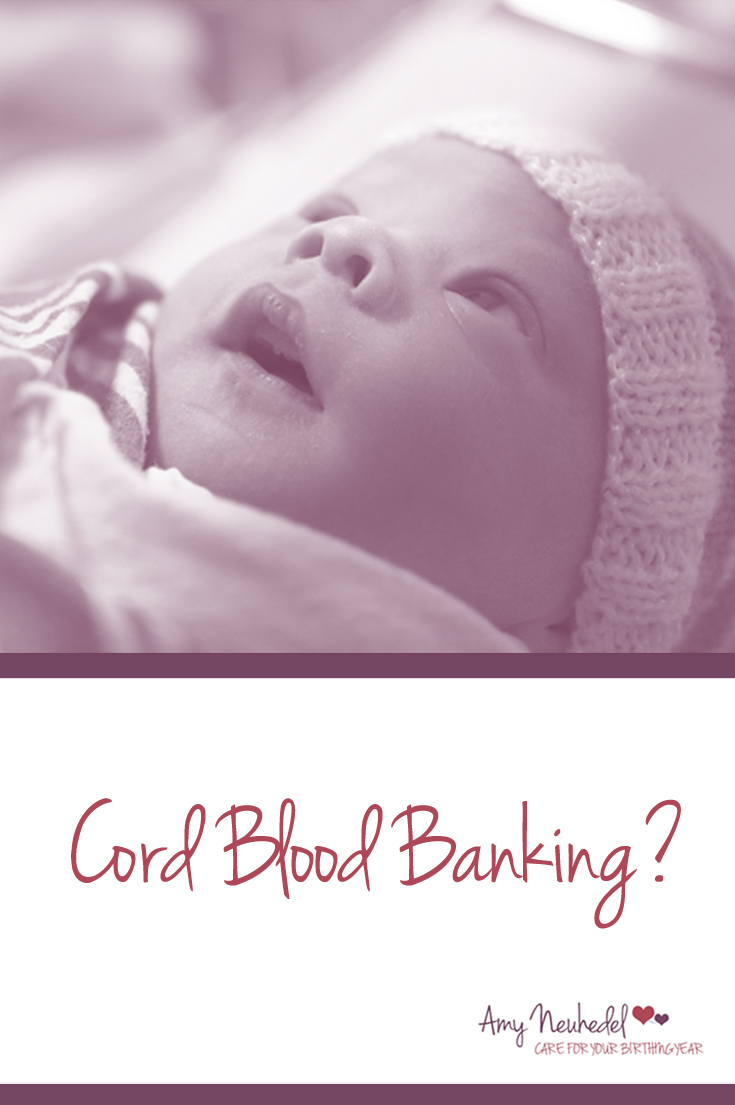 The allure of cord blood banking is very understandable. The advertisements play on our desire to protect our children..