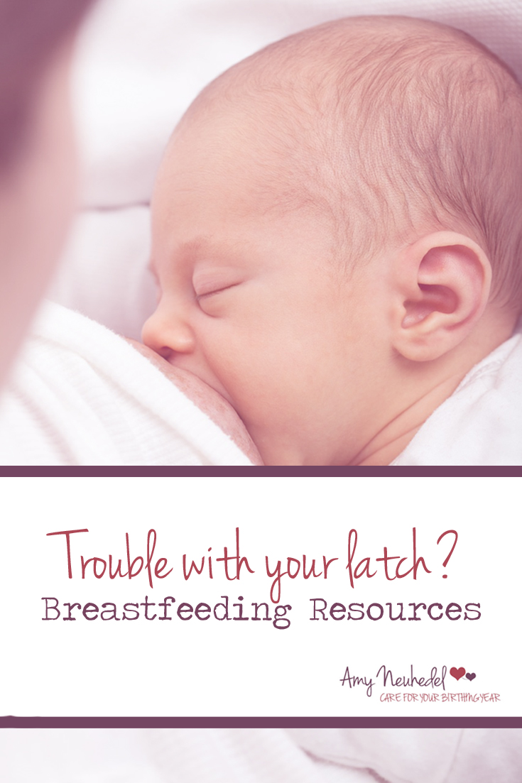 Problems with your latch? Here's some resources. Every drop of your milk is gold to your baby.