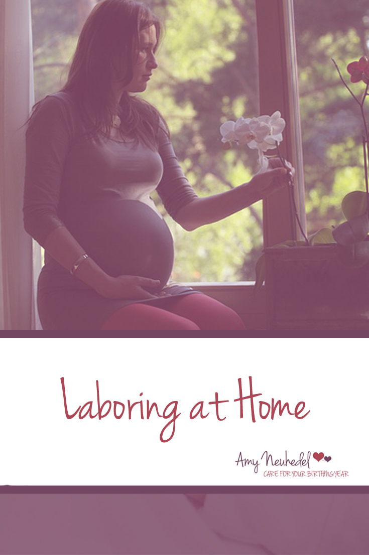 Avoid going to the hospital too early. Laboring at home allows things to really get moving before you enter the hospital which mean less chance for interventions.