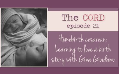 Homebirth Cesarean: Learning to love a birth story