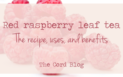 Red raspberry leaf tea: Recipe, uses + benefits