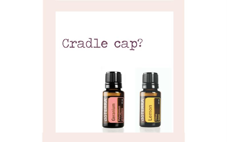 Treating Cradle Cap with Lemon and Geranium